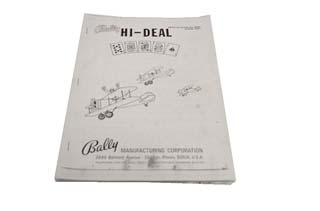 Hi Deal Manual - Used