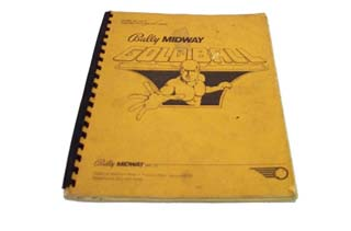 Goldball Manual - Used