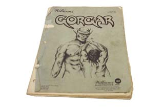 Gorgar Manual - Used