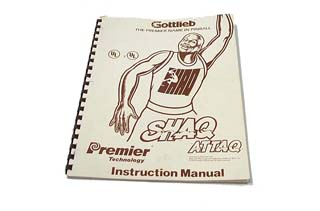 Shaq Attaq Manual - Used