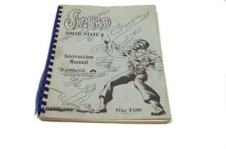 Sinbad Manual - Used