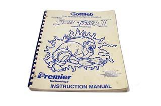 Street Fighter II Manual - Used