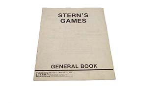 Stern Games General Repair Manual - Used