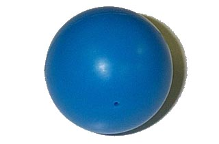 Blue Ball - Cirqus Voltaire Backbox