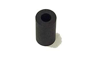 "Rubber Post Sleeve Black 7/8"""