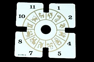 Twilight Zone Prototype Clock Decal