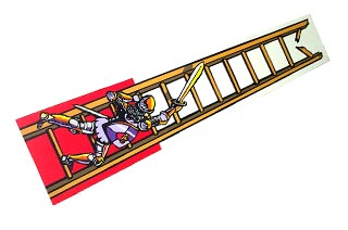 Medieval Madness- Right Ramp Decal