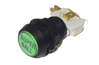 Button: SUPER BALL (GREEN)