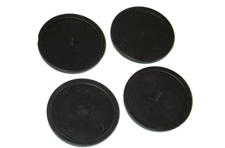 Hockey Puck 80mm Black