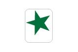 Target Decal-Green Star