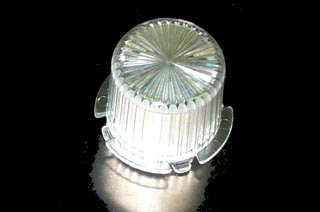 Dome twist lock- clear