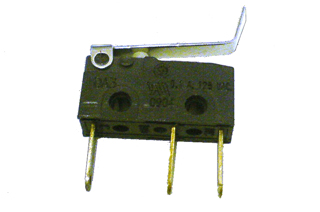 Microswitch-ramp lock