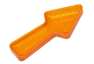 "Playfield Insert: Arrow 2.5"" Stippled Orange"