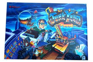 Junk Yard Translite- NOS