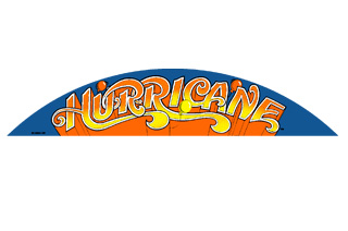 Hurricane Topper Decal