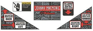 Johnny Mnemonic Apron Decal Set