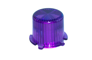 Dome Twist Lock-violet