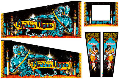 Tales Of The Arabian Nights Cabinet Art