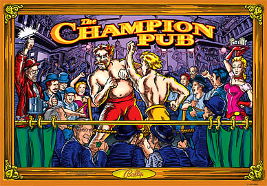 Remanufactured The Champion Pub Translite