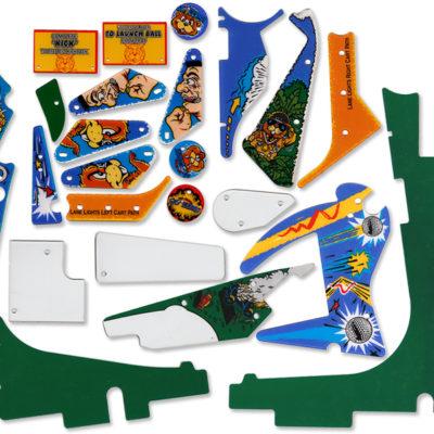 No Good Gofers Playfield Plastics Set