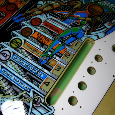 Xenon Screen Printed Playfield Limited Edition Gold