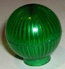 Globe Light Cover - Transparent Green