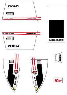 Decal-Ship Set 50023
