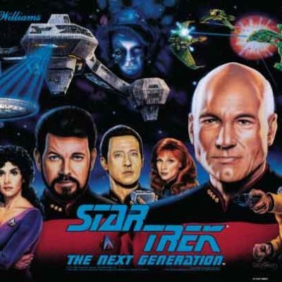 Star Trek Next Generation Translite